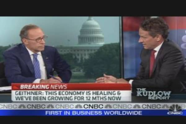 Geithner's Economic Outlook