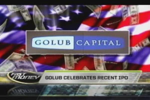 Golub Capital Rings Opening Bell