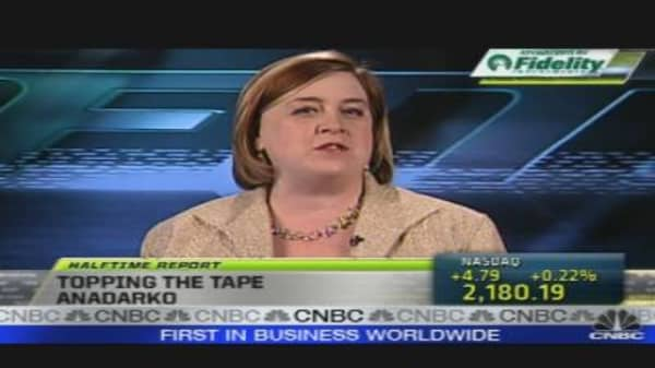 Topping Tape: Anadarko