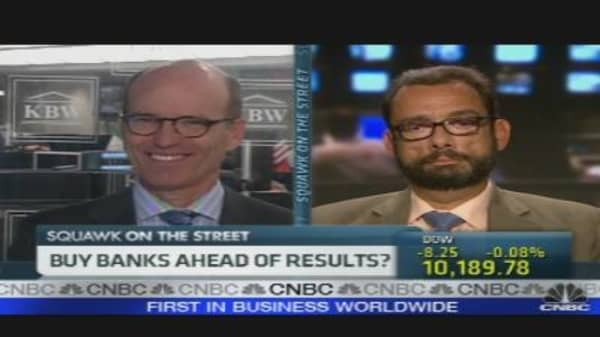 Buy Banks Ahead of Results?