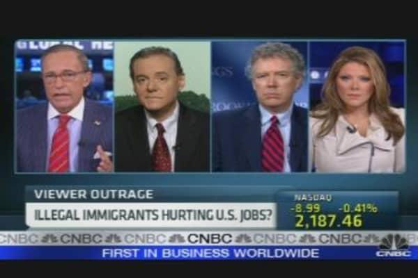 Illegal Immigrants Hurting U.S. Jobs?