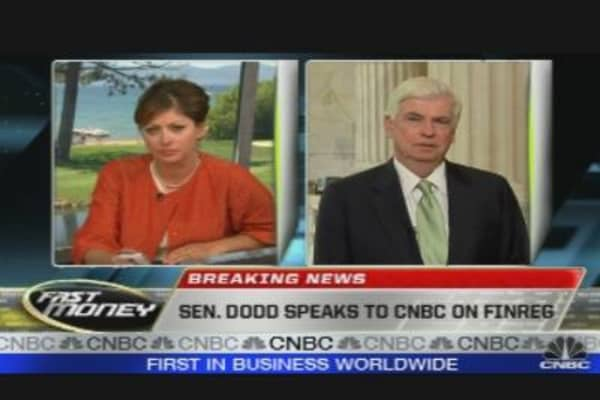 Sen. Dodd on FinReg