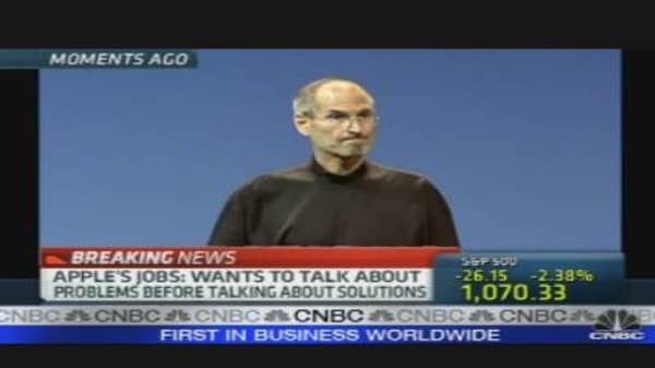Steve Jobs Speaks Out