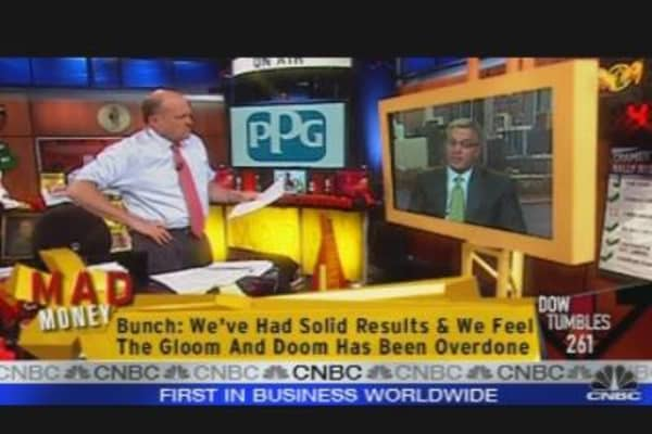 Cramer Interviews PPG's CEO
