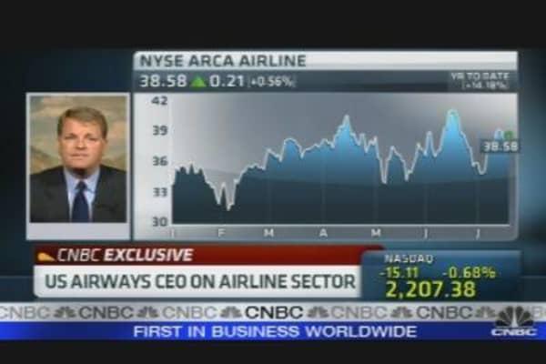 US Airways CEO on Q2 Earnings