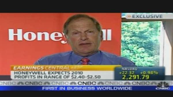 Honeywell CEO on Earnings, Outlook