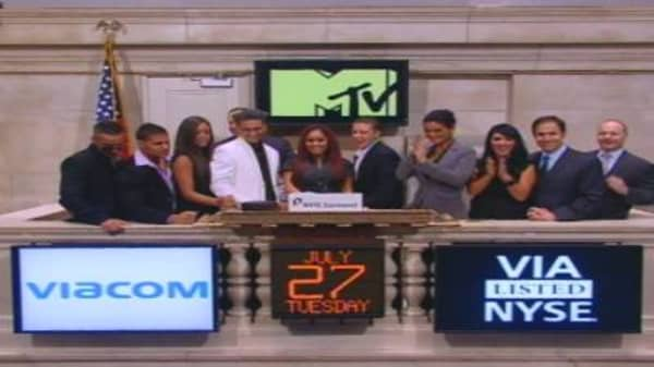 'Jersey Shore' Cast at the NYSE