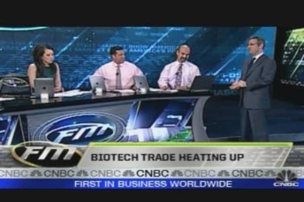 Biotech Trade Heating Up