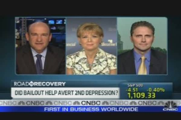 Bailout Averted Depression?