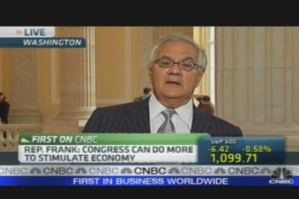 Barney Frank on FinReg, Taxes & More