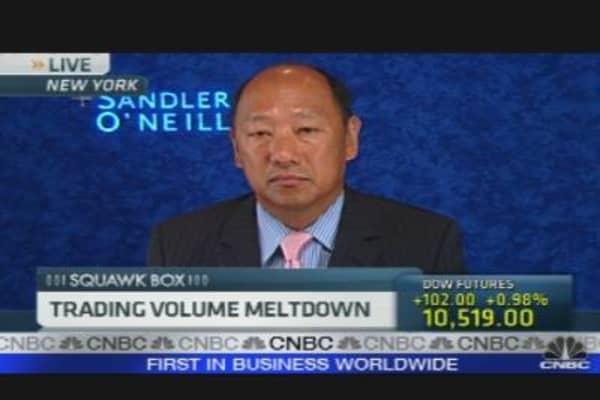 Trading Volume Meltdown