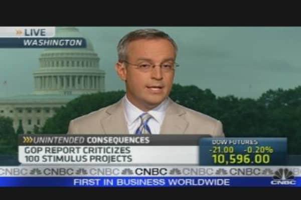 Stimulus Killing Jobs?
