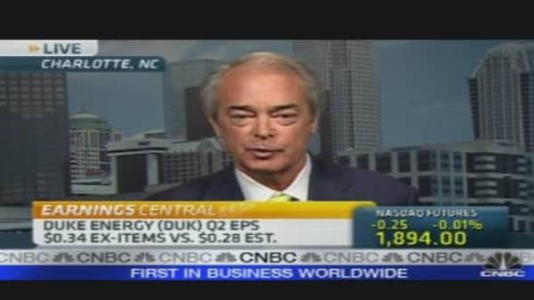 Duke Energy Q2 Results