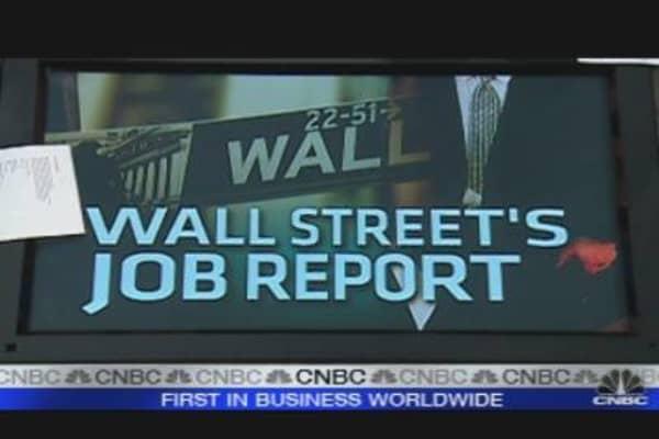 Wall Street Jobs Report