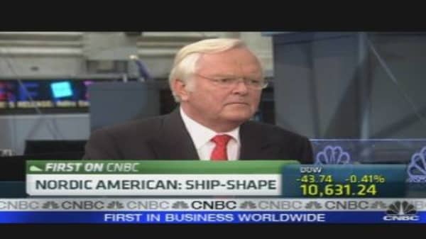 Nordic American Tanker CEO on Earnings
