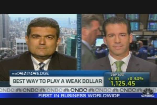 Best Ways to Play a Weak Dollar