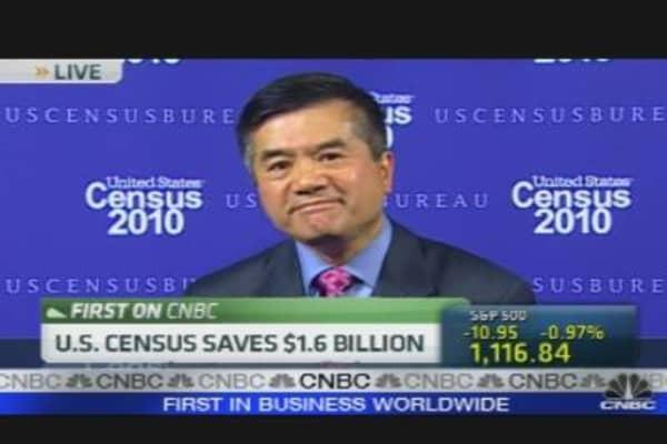 Locke: US Census $1.6B Under Budget