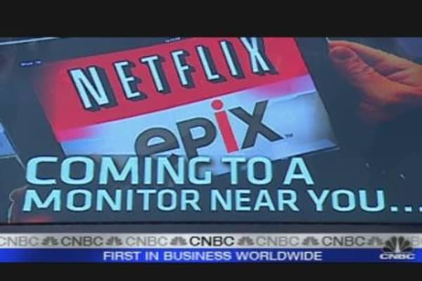 Netflix Higher After Epix Deal
