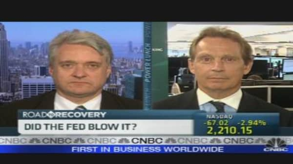 Did the Fed Blow It?