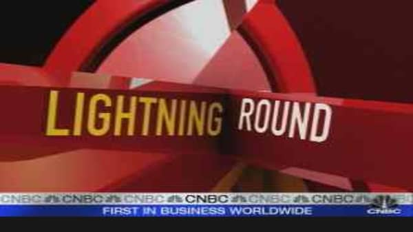 Lightning Round: Ford, Procter & Gamble, Medco Health and More