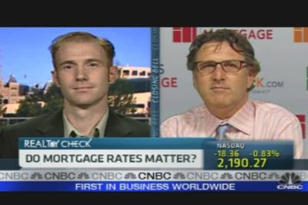 Do Mortgage Rates Matter?