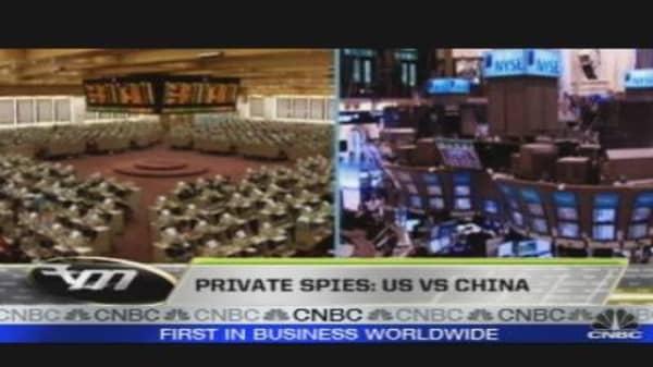 Private Spy: U.S. vs China