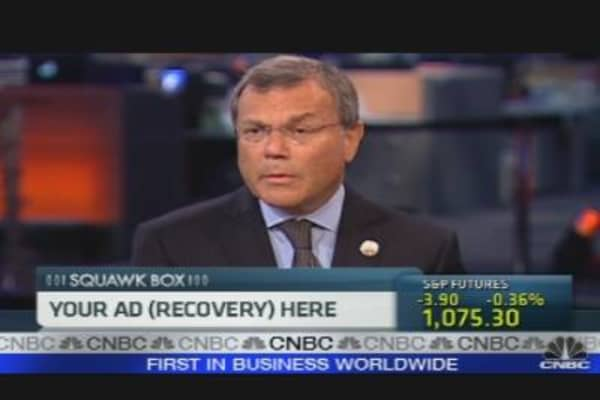WPP's Sorrell Shares Ad Outlook