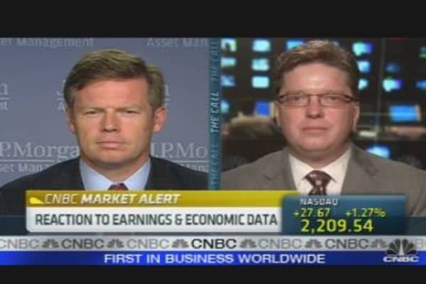 Reaction to Earnings, Economic Data