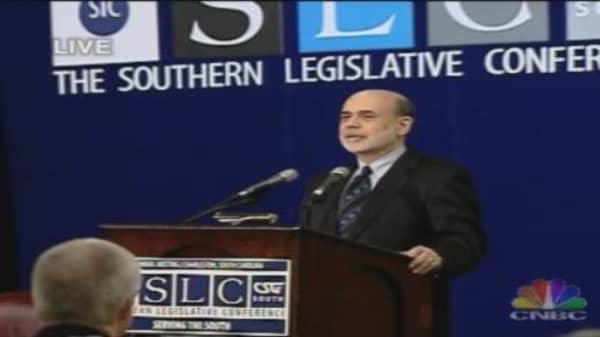 Bernanke on States' Finances