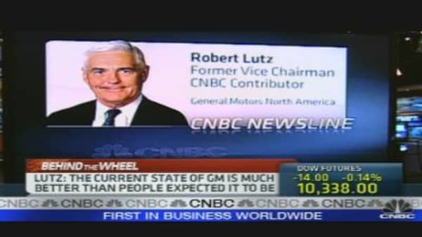 Lutz on GM IPO