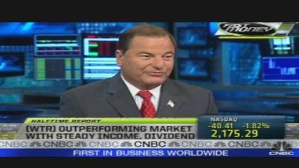 Aqua America CEO on the Record