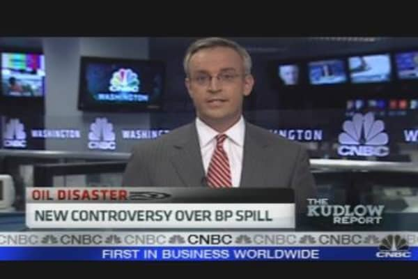 New Controversy Over BP Spill
