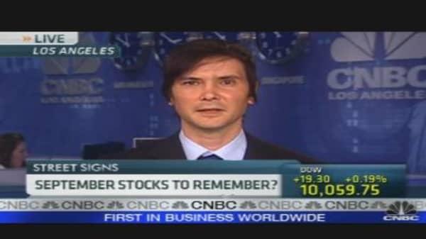 September Stocks to Remember?