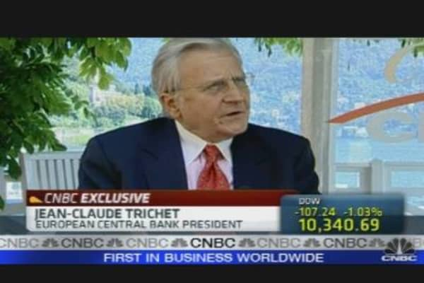 Trichet on the European Economy