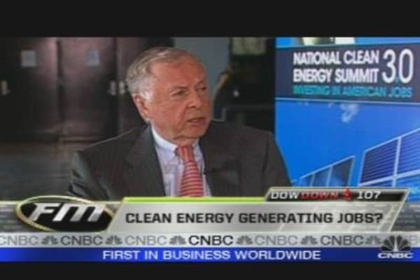 Boone Pickens on Clean Energy