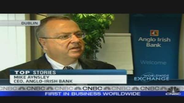 Markets to Determine Stabilization of Anglo Irish