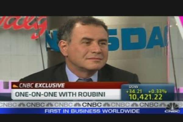 Roubini on the Economy