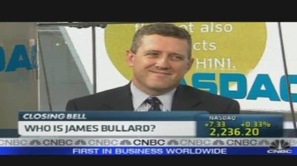 Bullard on the Economy