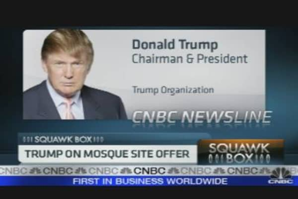 Trump on Mosque Site Offer