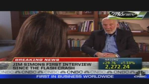 One-on-One With Hedge Fund Legend Jim Simons