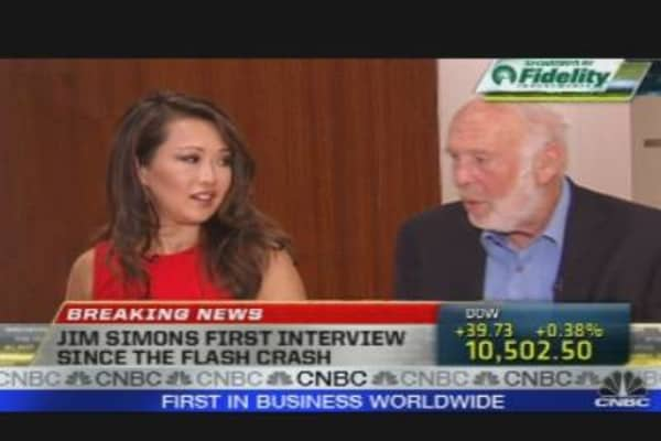 Jim Simons & the Flash Crash