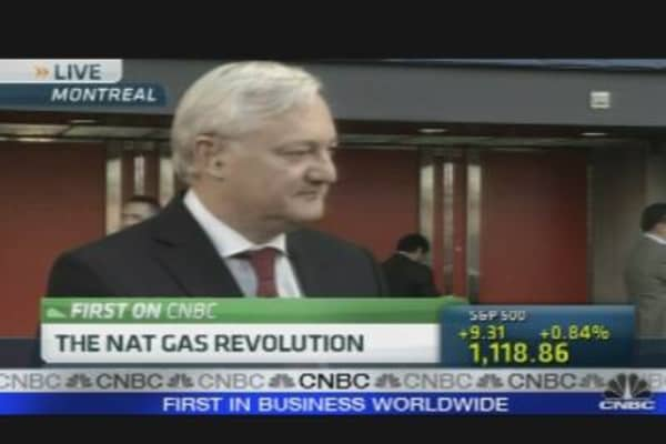 Shell CEO on Changing Energy Landscape