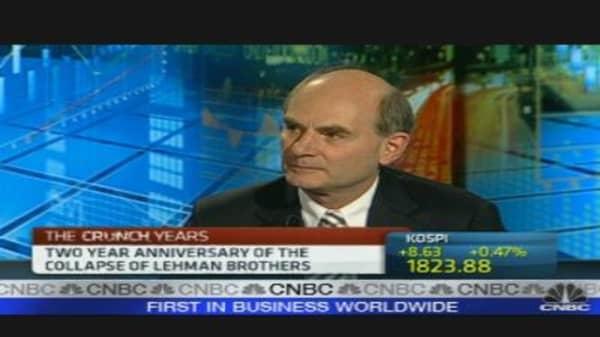 Reflecting on Lehman Collapse