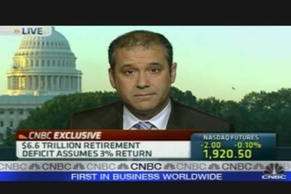 $6.6 Trillion Retirement Deficit