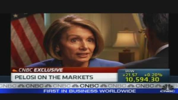 Pelosi On the Markets