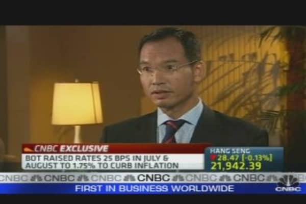 Thailand Will Benefit from a Strong Baht: Finmin