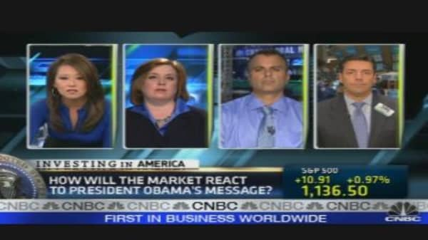 'Fast Money' Traders React to Obama