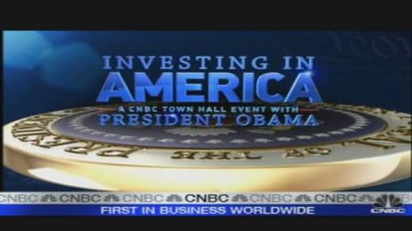 Investing in America: A CNBC Town Hall with President Obama
