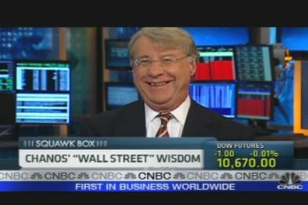 Chinese Economy Next Enron: Chanos