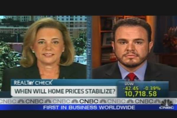 Home Prices Slip
